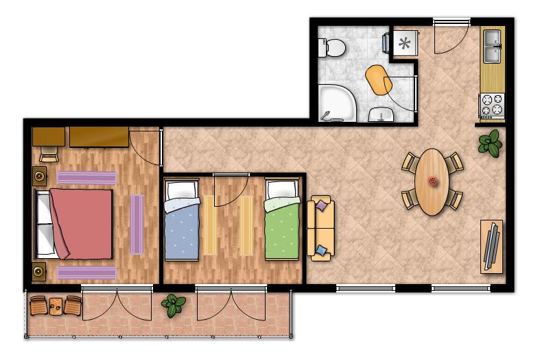 Awesome Casa Di Mq Idee Di Progetto With Progetto 70 Mq.